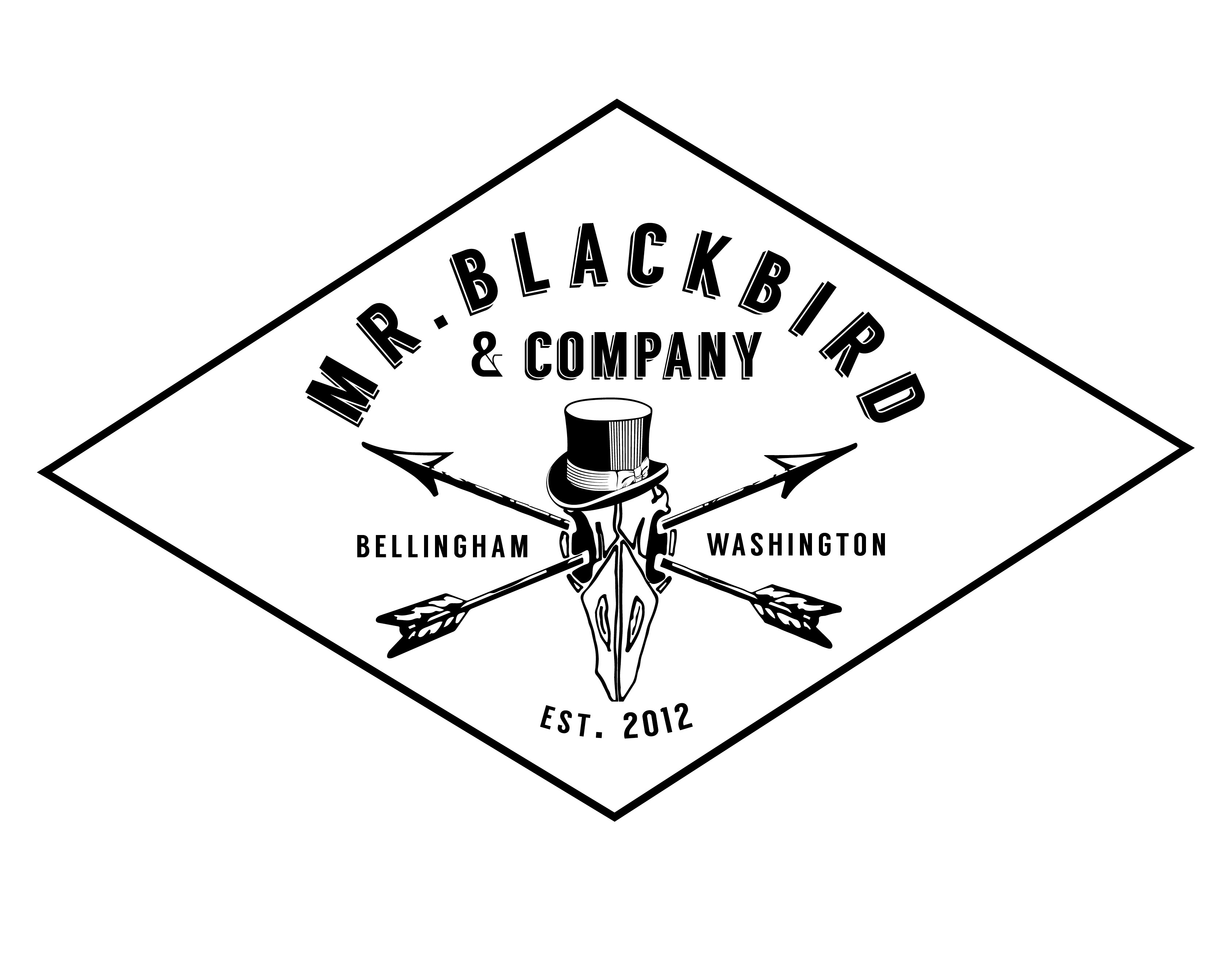 Screen Printing Bellingham, Mr. Blackbird and Company,
