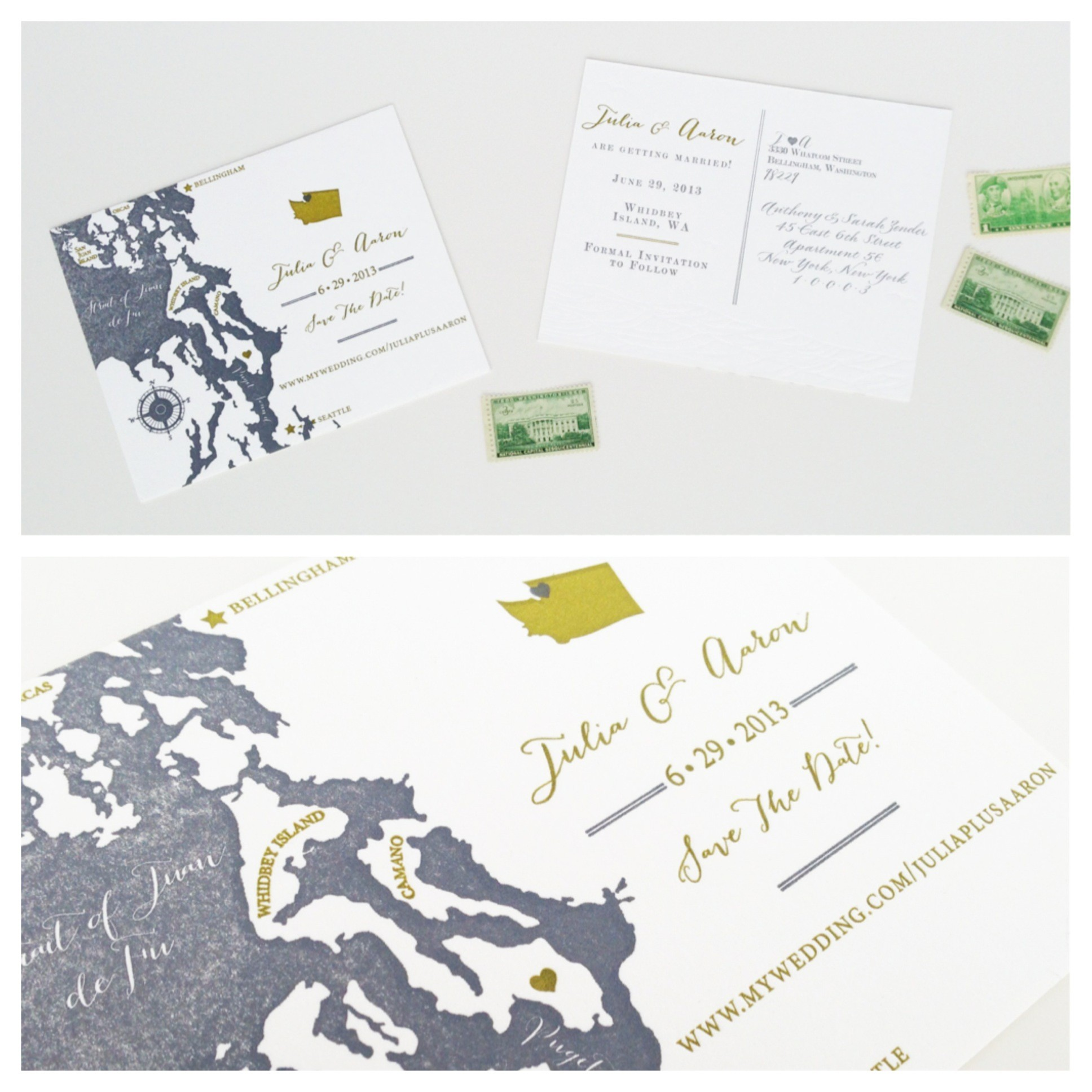 Kerri Efendi Designs | Seattle Wedding Invitations