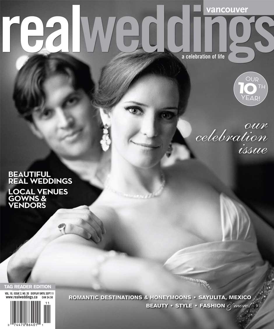 Real Weddings Magazine Vancouver Bc Kerri Efendi Designs Calligraphy Boxed Invitation Suite